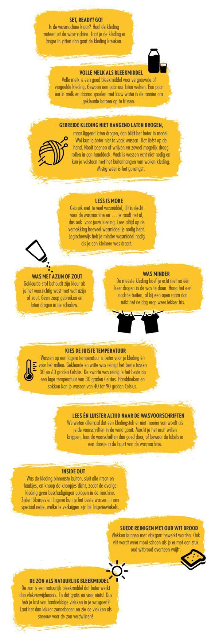 Tips om jouw outfit langer mooi te houden